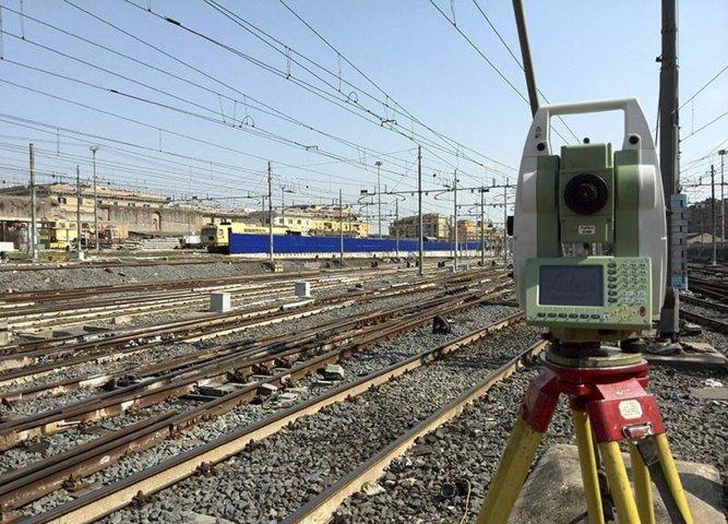 rilievi toprografici stazione Roma Termini