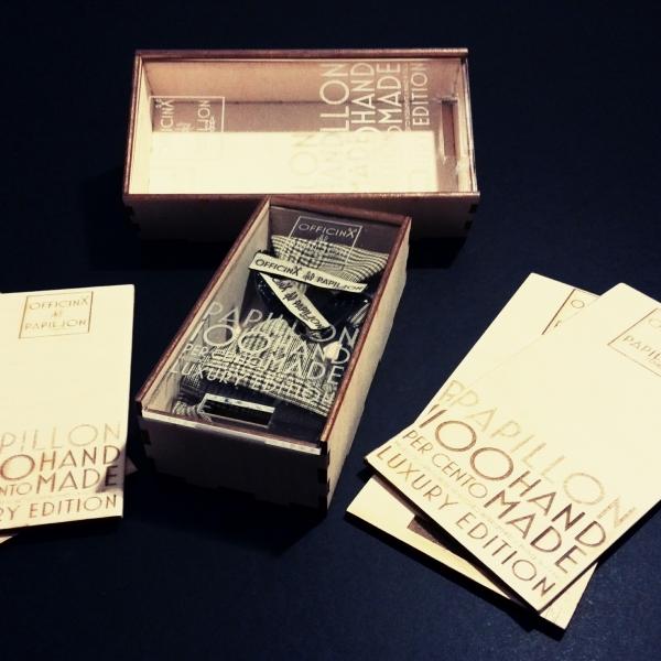 packaging, scatole, confezioni, legno plexiglass, incisioni, taglio, laser