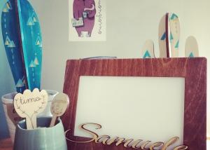 cornice 3, portafoto, oggettistica, idee regalo, legno, incisioni, taglio laser